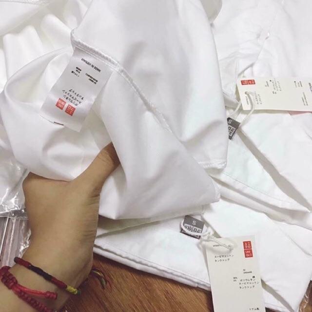 Áo sơ mi trắng Uniqlo,áo sơ mi uniqlo hàng chuẩn.