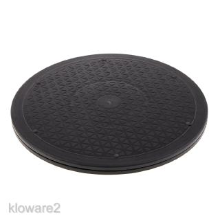 360 12″ Rotating Tray Lazy Susan Swivel Base Stand Platform for TV Monitors