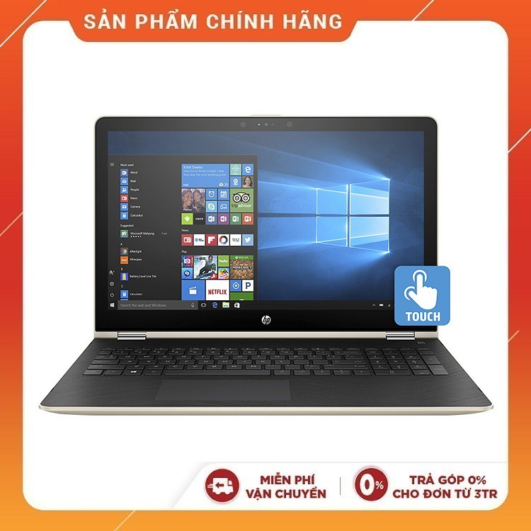 """Laptop HP Pavilion x360 14-cd0084TU (4MF18PA) (i5-8250U, 14""""Touch)+ Kèm bút cảm ứng"""
