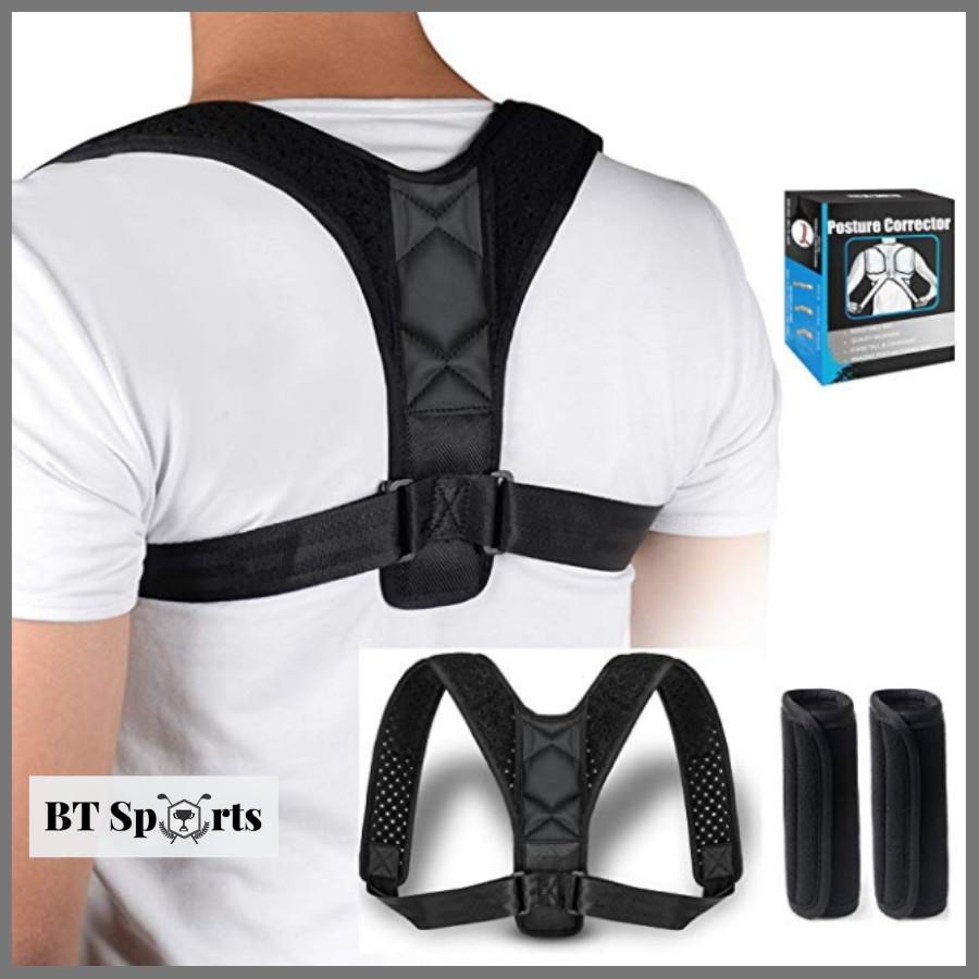 [Mã COSHOT18 hoàn 8% xu đơn 250K] Đai chống gù lưng Posture Corrector (PC) [Tặng kèm 2 tấm trợ lực]