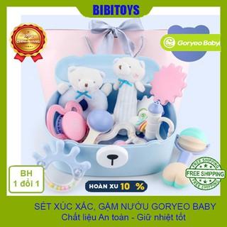 [CAO CẤP] SET đồ chơi xúc xắc phát triển giác quan cho trẻ sơ sinh Gorygeo Baby Hàn Quốc