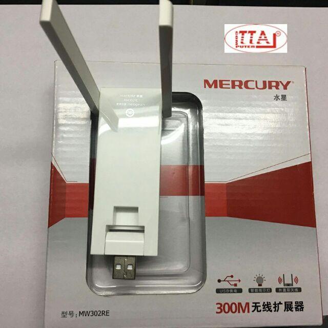 Bộ kích sóng Wifi Mercury repeater MW302RE