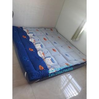 Nệm TOPPER dày 6~ 7cm/ Nệm trải sàn ngủ gấp gọn.