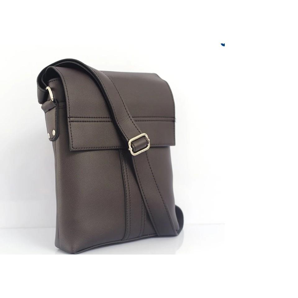 Túi Đeo Chéo Đựng Ipad Nam HI&T 25 (Nâu,đen)