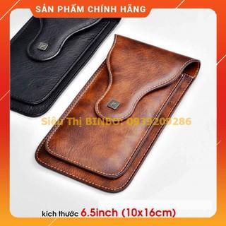 Bao da điện thoại đeo thắt lưng Puloka – Bao da điện thoại đôi