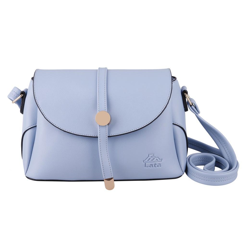 Túi đeo chéo nữ LATA HN59 màu xanh dương - [Hàng Mới]