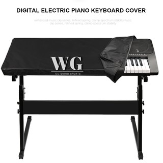 ♔WG♔ Electronic Digital Piano Keyboard Cover Dustproof Durable Foldable For 88 61 Key @vn