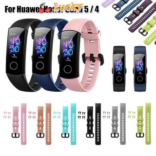 Dây Đeo Thay Thế Nhiều Màu Cho Đồng Hồ Thông Minh Huawei Honor Band 5 4