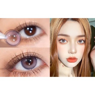 (21.April.9) YNXDPAO Series,CLAMIDO Brand ,14.0mm,(Grade 0-8.00), Contact Lens yearly use(purple)