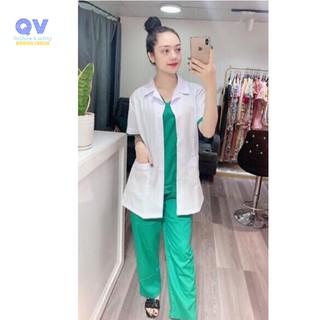 bộ blue nhân viên y tế, phòng khám, spa, thẩm mỹ viện,... thumbnail