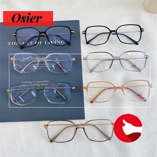 👒OSIER🍂 Vintage Anti-Radiation Polygon Retro Spectacles Frames Anti-Blue Light Eyewear Fashion Irregular Computer Eyeglasses Optical Glasses/Multicolor