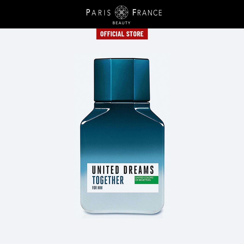Paris France Beauty - Nước Hoa Nam United Color Of Benetton United Dreams Together 100ml