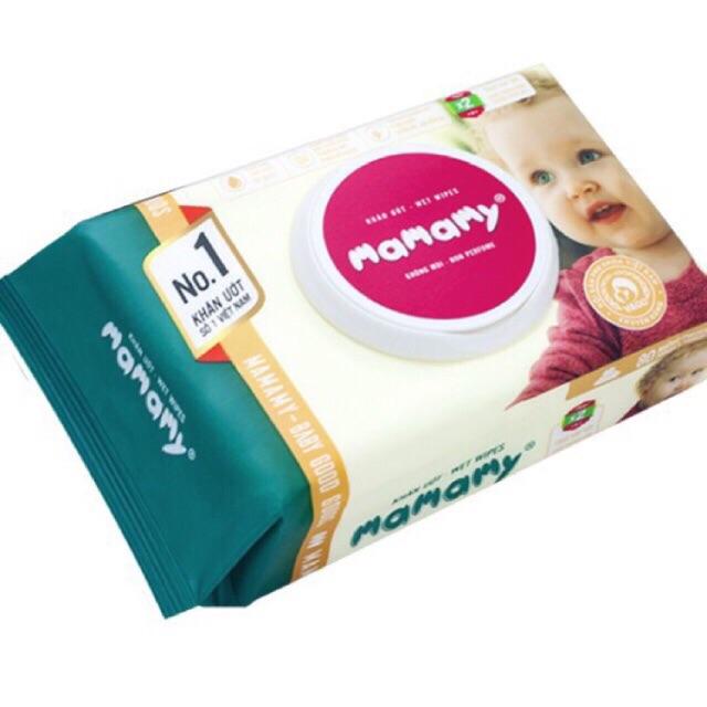 Combo 6 gói giấy mamamy 100 tờ k mùi