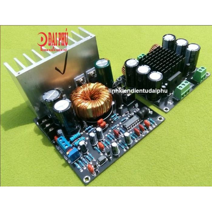 Bộ mạch amplifier TDA8954 Mono 420W chạy điện bình 12V - Thích hợp chế loa kéo - 3324921 , 1305007500 , 322_1305007500 , 940000 , Bo-mach-amplifier-TDA8954-Mono-420W-chay-dien-binh-12V-Thich-hop-che-loa-keo-322_1305007500 , shopee.vn , Bộ mạch amplifier TDA8954 Mono 420W chạy điện bình 12V - Thích hợp chế loa kéo