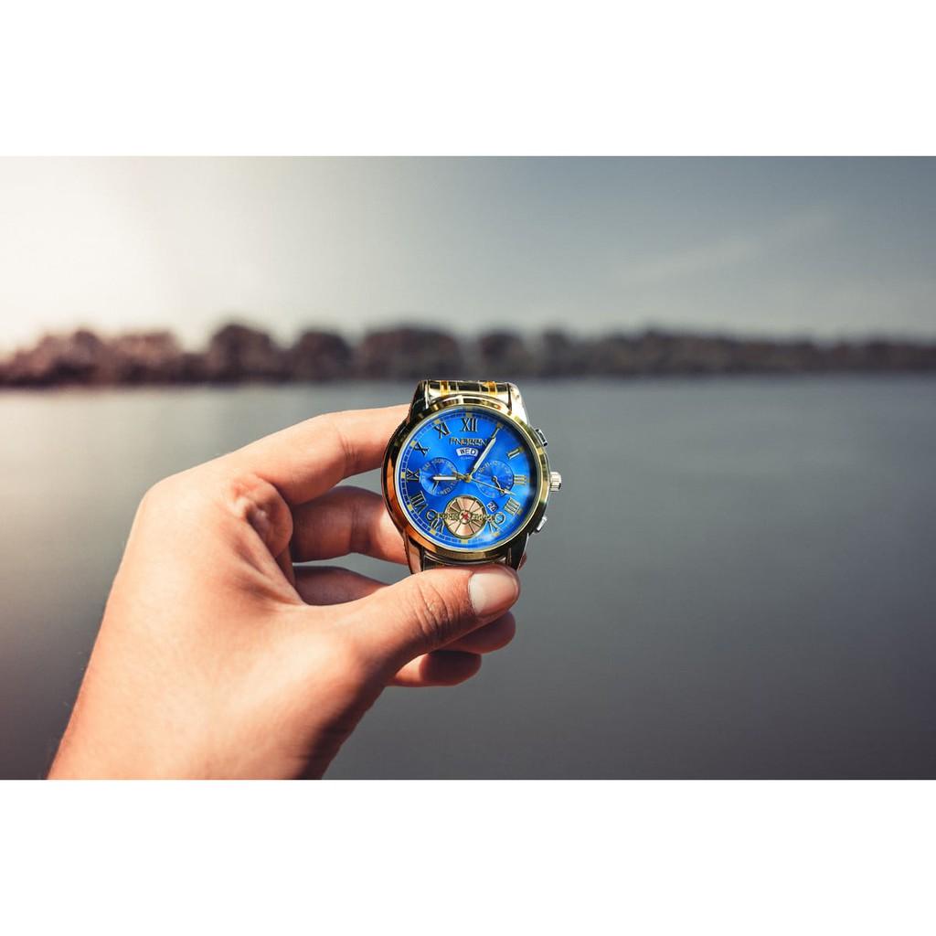 Đồng Hồ Nam FNGEEN FN4001 chính hãng, Đồng hồ Doanh Nhân Chạy 2 Lịch Cao Cấp