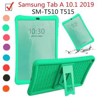 Ốp Máy Tính Bảng Cao Su Mềm Có Giá Đỡ Cho Samsung Tab A 10.1 2019 Sm-t510 T515