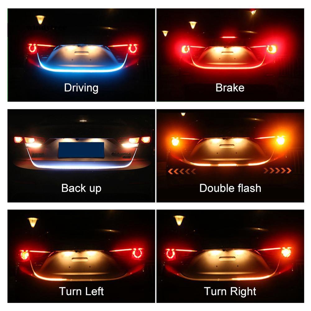 Dây đèn LED tín hiệu gắn đuôi xe hơi 1.2m