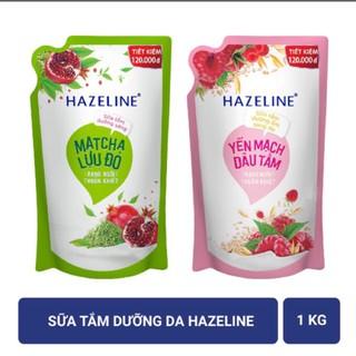 Sữa tắm dưỡng da Hazeline 1000g (Túi) thumbnail
