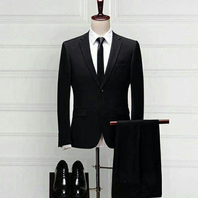 [Freeship từ 99K] Combo vest đen [siêu tiết kiệm] tặng kèm sơ mi cao cấp + cà vạt