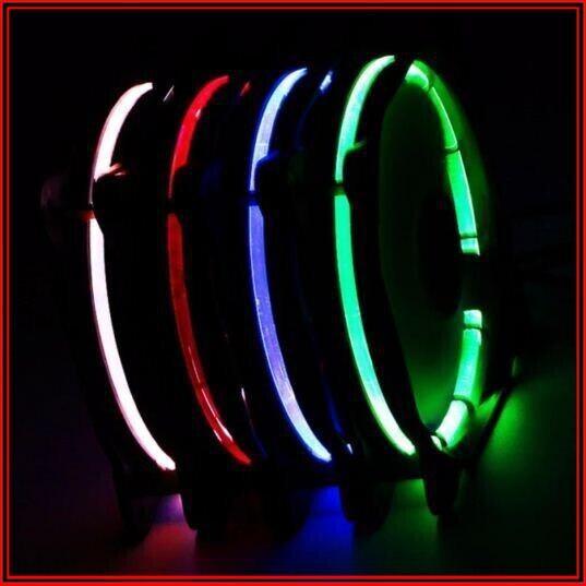 {SĂN SALE} Quạt case tản nhiệt 120MM Led Neon độc đáo (LED ĐỎ)
