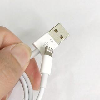 Cáp sạc Iphone ipad Foxconn siêu bền cho IP 5 6 7 8 X 11 dây dài 1m vào điện nhanh không kén máy KLH 3i 4