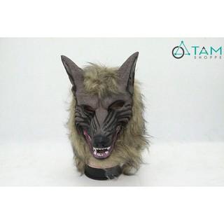 Mặt nạ Halloween đầu sói số 03