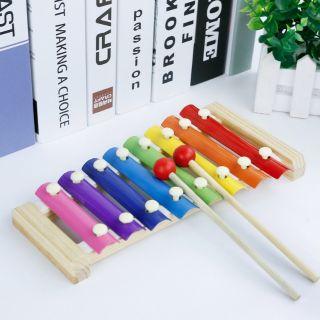 Đồ chơi thông minh – xylophone gỗ 8 thanh