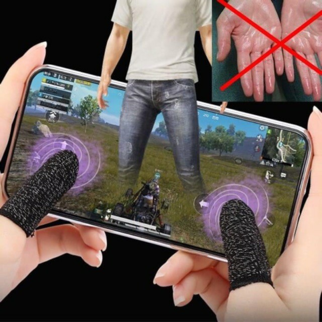 Găng tay cảm ứng chơi game mobile chống ra mồ hôi tay