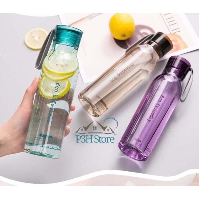 Bình nước nhựa Lock&Lock Eco Bottle nhựa tritan 550ml ABF644