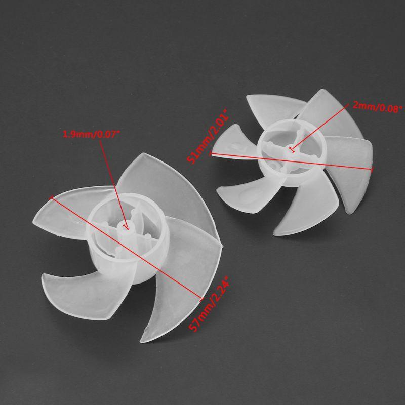 Quạt Nhựa Mini 4 / 6 Lá Cho Động Cơ Khô Tóc
