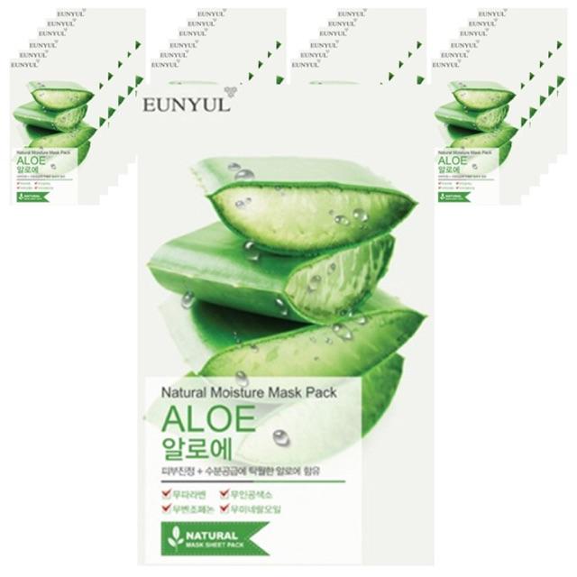 10 Mặt nạ lô hội Eunyul Natural Moisture Aloe (có sẵn) - 3365491 , 614641979 , 322_614641979 , 200000 , 10-Mat-na-lo-hoi-Eunyul-Natural-Moisture-Aloe-co-san-322_614641979 , shopee.vn , 10 Mặt nạ lô hội Eunyul Natural Moisture Aloe (có sẵn)