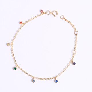 Lắc bạc mạ vàng cầu vồng treo Gix Jewel LT02 thumbnail