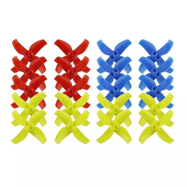 10 Pairs KINGKONG/LDARC 1540 40mm 4-blade Propeller 1.5mm Hub for TINY GT7 Beta75X RC Drone