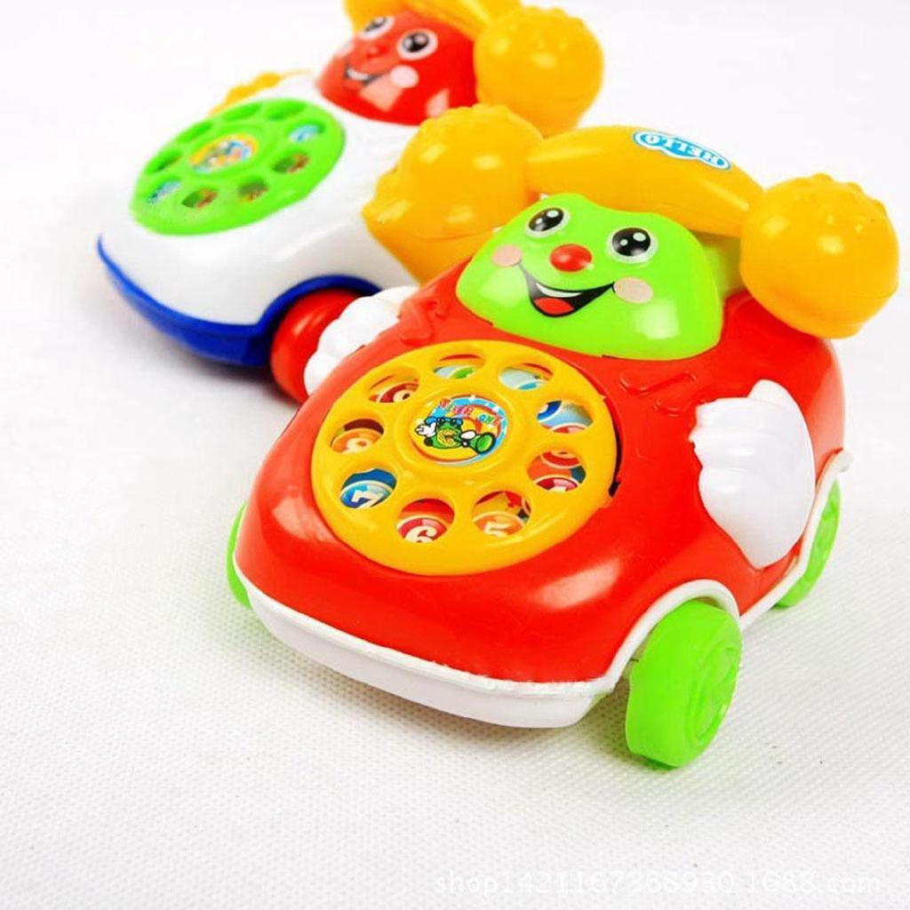 Ch Đồ chơi trẻ em Phim hoạt hình Xe điện thoại Trẻ em Giáo dục Phát triển Đồ