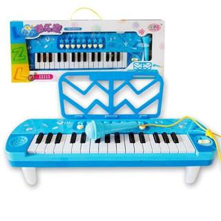 Đàn piano kèm mic cho bé ( 2 màu )