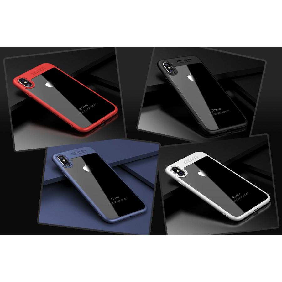 Ốp lưng Iphone X Ipaky Original Hybrid viền mềm + lưng trong suốt