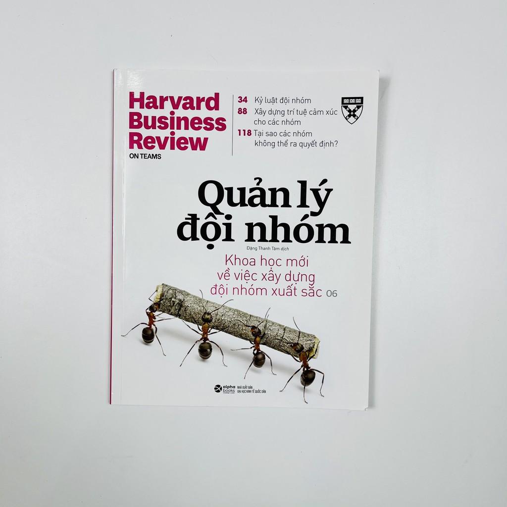 Sách - HBR ON - Quản Lý Đội Nhóm