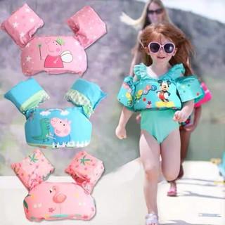 Áo phao bơi cho bé kèm phao tay mẫu mới