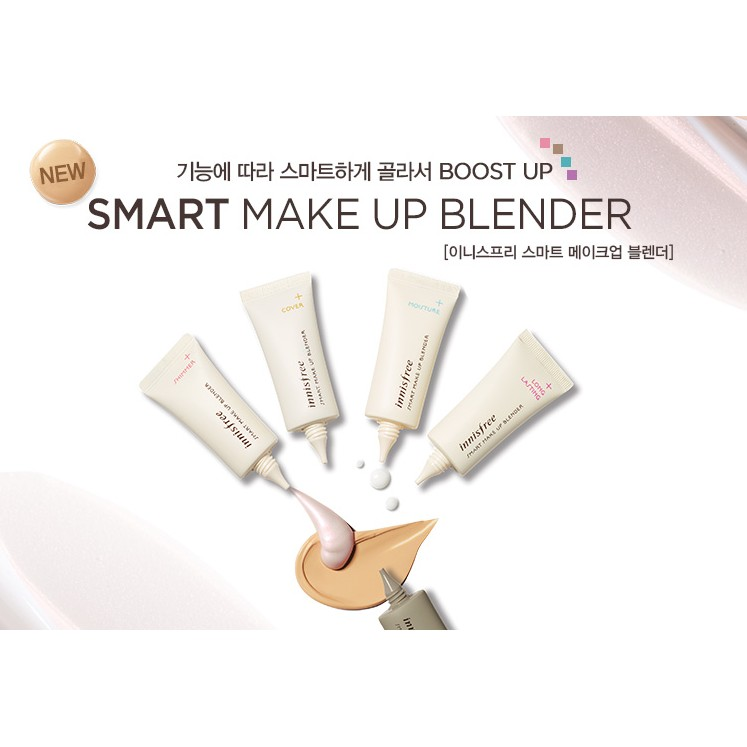 Kem lót Innisfree Smart Make Up Blender về hàng SALE 50%