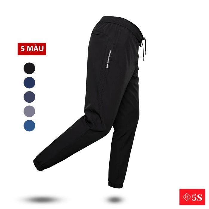 Quần Jogger 5S (4 Màu) Vải Gió, Dáng Thể Thao, Bo Ống Trẻ Trung, Lưng Chun Thoải