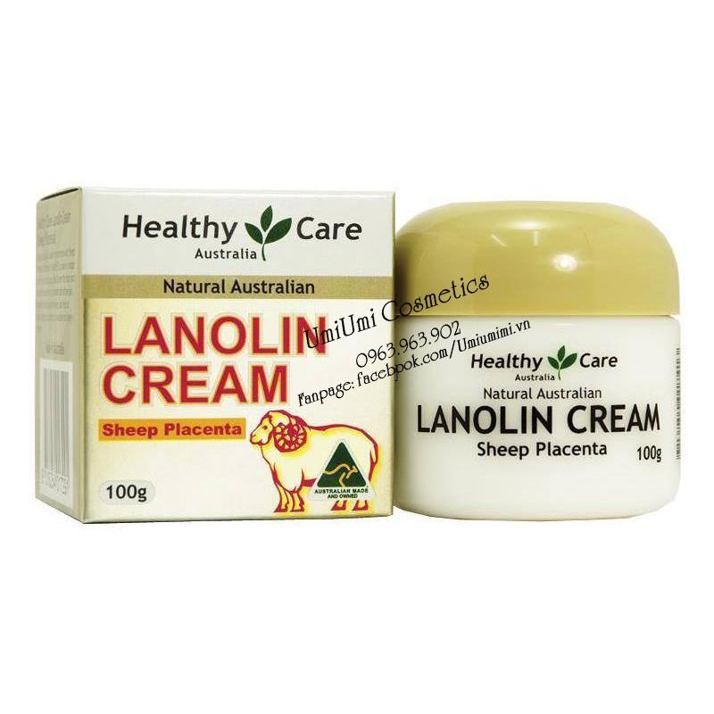 Kem nhau thai cừu - Lanolin with Sheep Placenta 100g