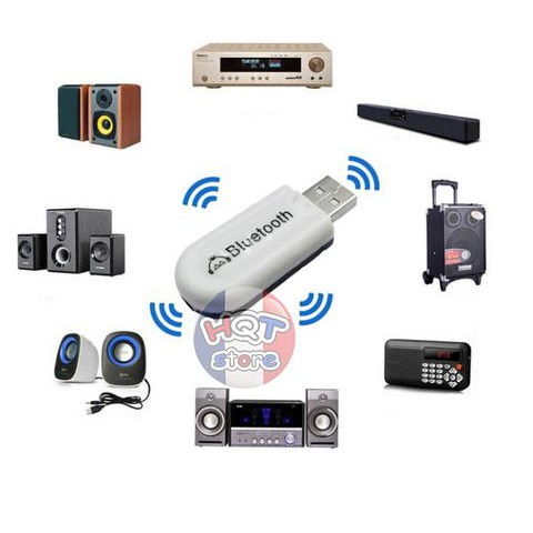 ? USB BLUETOOTH MZ-301 CHUYỂN LOA THƯỜNG THÀNH LOA BLUETOOTH