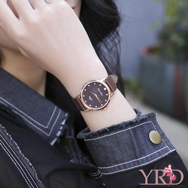 Women's Fashion Luxury Brand Leather Strap Watch