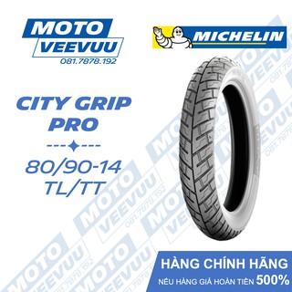 Lốp Michelin 80 90-14 TL TT City Grip Pro (Lốp không ruột) thumbnail