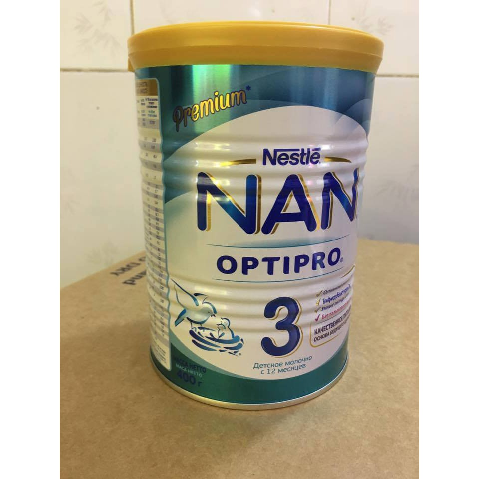 Combo 4 lon Sữa Nan Nga số 2 (400g)