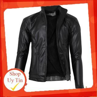 Áo khoác da lót lông nam thời trang cao cấp pious AKD021 tặng vớ hàng VNXK Liên hệ mua hàng 084.209.1989