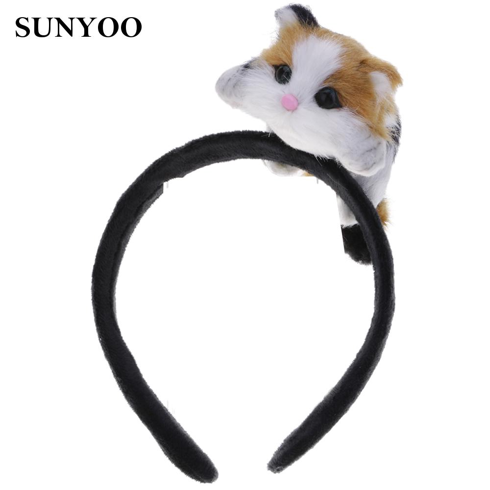 Hair Hoop Women Girls Polyester Headband Polyester Head Band Girls Safe Funny