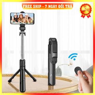 [Nhập Khẩu – Loại 1] Gậy Chụp Ảnh Tự Sướng 3in1 có Bluetooth ,3 Chân Đa Năng, Chụp Hình, Giá đỡ điện thoại livestream