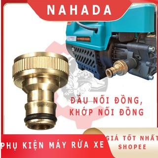 Khớp nối nhanh phụ kiện máy rửa xe bằng đồng đầu nối cút nối lọc rác máy rửa xe gia đình thumbnail