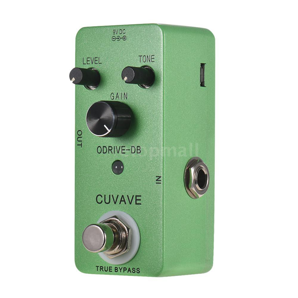 🔥🔥 CUVAVE ODRIVE-DB Analog Overdrive Guitar Effect Pedal Zinc Alloy Shell True
